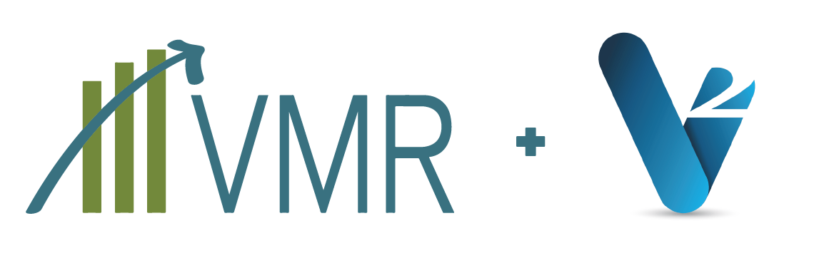 VMR + V2 partnership logo